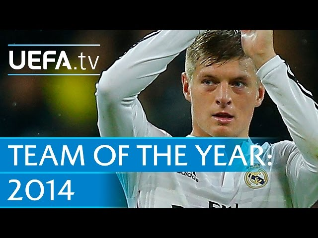 Toni Kroos: 2014 Team of the Year nominee