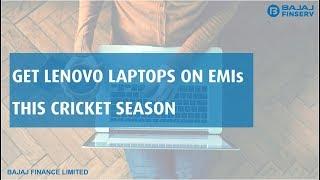Lenovo Laptops on EMIs | EMI Network Powerplay | Bajaj Finserv