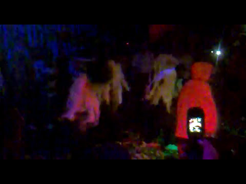 halloween party show in hibou club, La ceiba , Honduras 2009