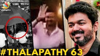 Thalapathy 63 : Vijay Mobbed by Fans | Atlee Movie | Hot Tamil Cinema News