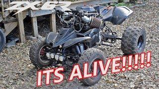 DEATH Trap 600cc Ninja Powered ATV | Death Trap Build Ep.1