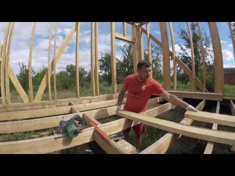 Каркасный дом своими руками часть 4