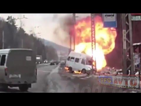 Жесткие аварии и ДТП 2017 № 6