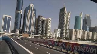 Dubai Big Bus Tour on June 11, 2016 in HD