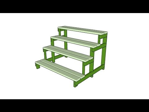 Plant Stand Plans Youtube