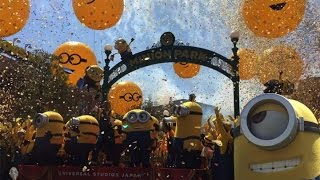 Minion Park and NEW Minion Ride first look | Universal Studios Japan | ???????