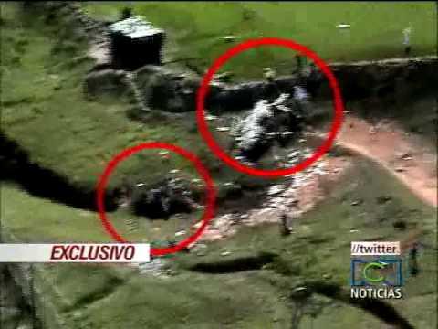Asi fue el accidente donde murió Cdte de la Brigada Movil 20