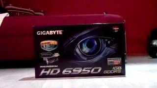 Gigabyte HD 6950 (Unboxing/German) by Hardwareorg
