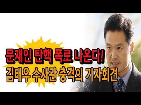 문재인 탄핵 폭로 나온다! 김태우 수사관의 역대급 기자회견! (진성호의 돌저격) / 신의한수
