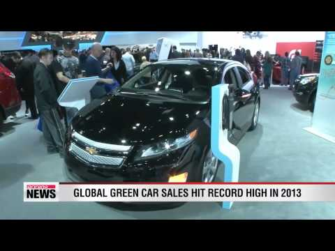 Global green car sales hit record high in 2013
