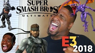 How SMASH players REACTED to Super Smash Bros Ultimate Reveal at E3 2018