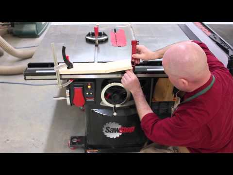 Bending Wood On Your SawStop Table Saw