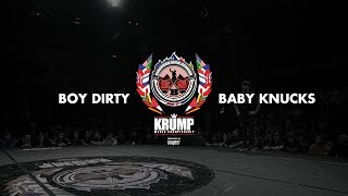 Boy Dirty vs Baby Knucks | Junior Top 8 | EBS 2018
