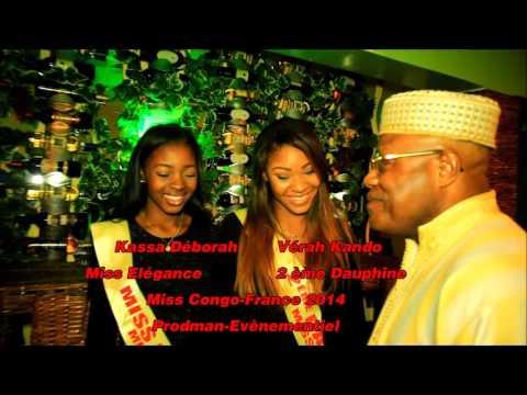 Chronique des Miss Africaines de France épisode 2 au Congo Pointe-Noire 2014