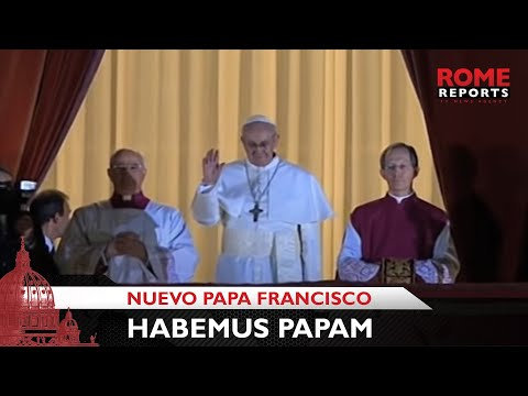 'Habemus Papam': el cardenal Bergoglio es el nuevo Papa Francisco I