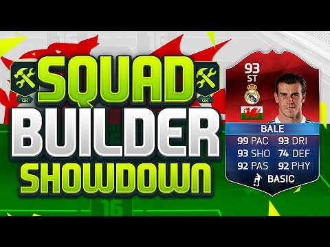 FIFA 16 SQUAD BUILDER SHOWDOWN!!! iMOTM STRIKER GARETH BALE!!!