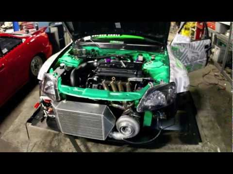 800+ HP Turbo Honda Civic Dyno - Dynamic Performance x ESR