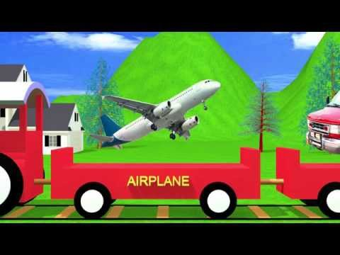Sounds of Transportation | Sound effects of real vehicles | Kindergarten Learning Videos