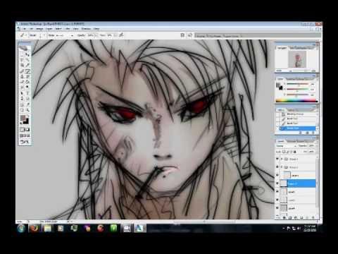 Drawing Anime Wacom Tablet