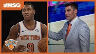 RJ Barrett Shows Off Passing Ability in Third Preseason Game | New York Knicks
