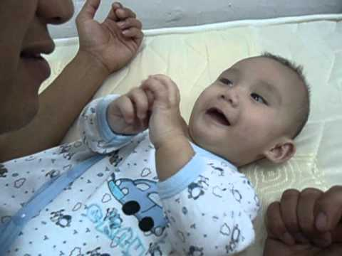 Baby Thomas Sneezing (3x) video