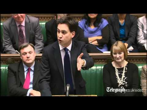 PMQs: David Cameron 'has lost control of his party', says Ed Miliband