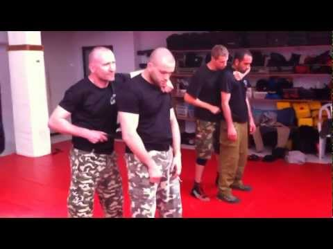Advanced Krav Maga Training April 2012 (Knives , Guns..) Grand Master Gabi Noah Israel Image 1