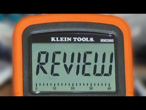 Klein Tools MM2000 Multimeter Review