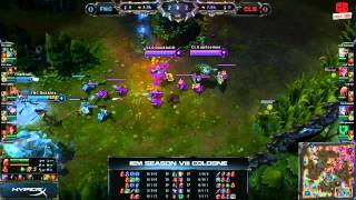 Video clip [IEM8] [Cologne] [Bán kết 2] [Game 1] Fnatic vs Counter Logic Gaming [25.11.2013]