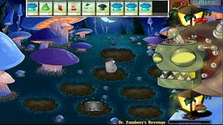 PLANTS VS ZOMBIES GLOOM SHROOM VS DR. ZOMBOSS`S