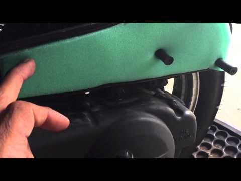 TaoTao 50cc Scooter DIY Air Filter Replacement PT 3
