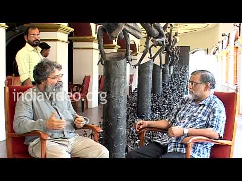 Interview with sculptor K.S Radhakrishnan - Part  X