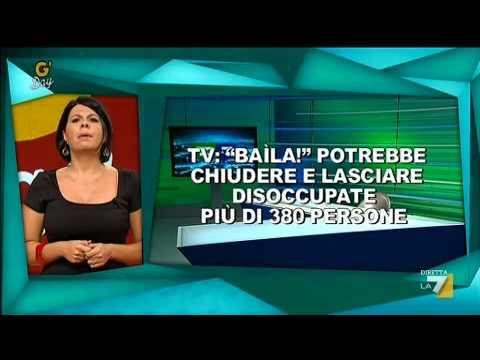 G'DAY con Geppi Cucciari 12/10/2011 – Anticipazione dei titoli del TG LA7 di Enrico Mentana