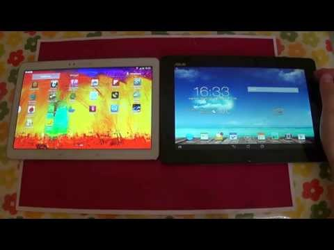 Samsung Galaxy Note 10.1 2014 Edition VS Asus Transformer Pad TF701 - Confronto Tablet