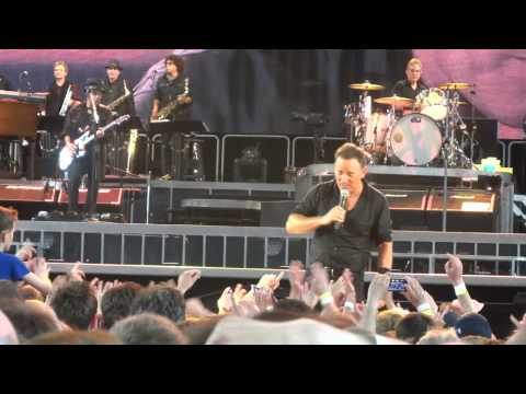Bruce Springsteen Oslo 30-04-2013 Shout