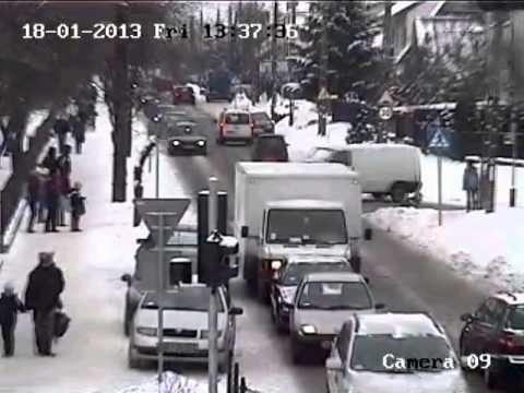 18 stycznia na ulicy Matejki w Wyszkowie został potrącony 12-letni chłopiec.