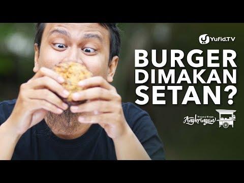 Burger Dimakan Setan? - Adab Makan - Bincang Ringan Angkringan