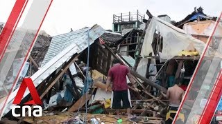 Death toll from Typhoon Kammuri in Philippines rises to 10