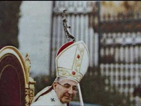 Secret Satanic Cross carried by Vatican II Antipopes? Video