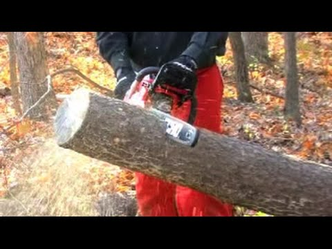 Chainsaw Basics: How to Safely Use a Chainsaw