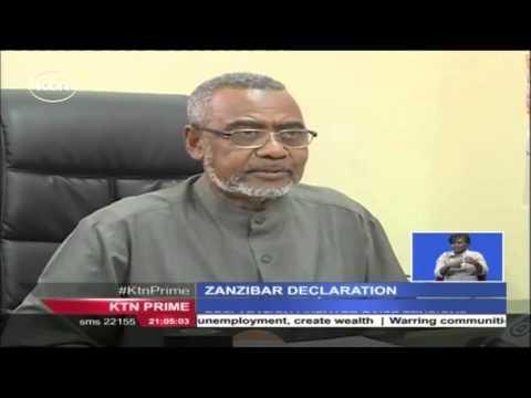 Zanzibar's Maalim declares himself the President elect of Tanzania