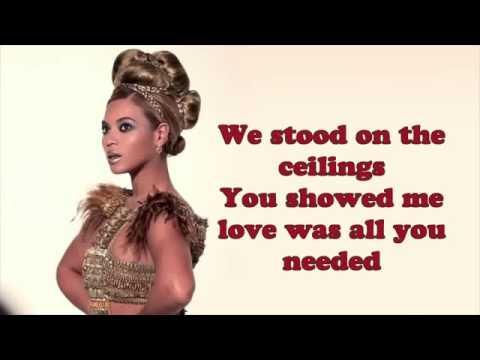 Beyoncé  –  Heaven  | Official ( Video  Lyrics ) On Screen