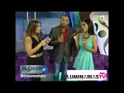 Discusión entre Massiel Taveras e Iván Ruiz en El Show del Mediodía