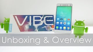 Lenovo Vibe S1 Unboxing Overview & Initial Impressions