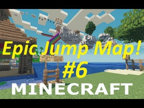 "Minecraft: Epic Jump Map - Part 6 - ""Careless Cheating"""