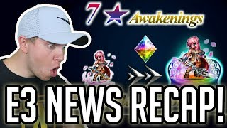 7 Stars, Item World, & TONS OF REWARDS! E3 RECAP! - [FFBE] Final Fantasy Brave Exvius