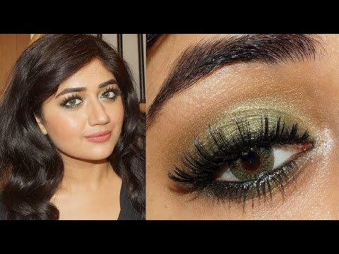 MAC Golden Olive Smokey Eyes Tutorial   corallista