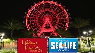 Inside I-Drive 360: Orlando Eye, Madame Tussauds Orlando & SEA Life