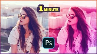 How To Extra Colorized Photo Within 1 Minute : Photoshop Tutorial