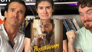 Prassthanam  Trailer REACTION! | Sanjay Dutt | Jackie Shroff